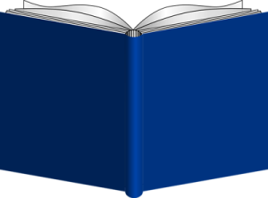 Free Stock Photo: Illustration of an open book.