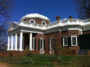 Jefferson's home, Monticello. Photo by me, 2011.