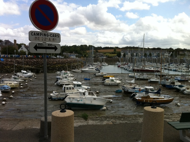 Low tide, Brittany, France. [Photo by me, 2011.]