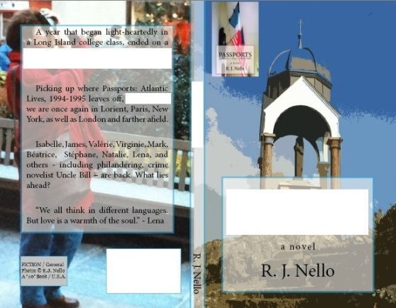 Draft Cover. Front cover photo (r): Notre Dame de la Garde, overlooking Dahouët harbor, Brittany. Back cover: A visitor snapping a photograph, Manhattan. [Copyright © 2014 by R. J. Nello]