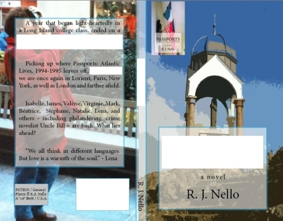 Draft Cover. Front cover photo (r): Notre Dame de la Garde, overlooking Dahouët harbor, Brittany. Rear cover: A visitor snapping a photograph, Manhattan. [Copyright © 2014 by R. J. Nello]
