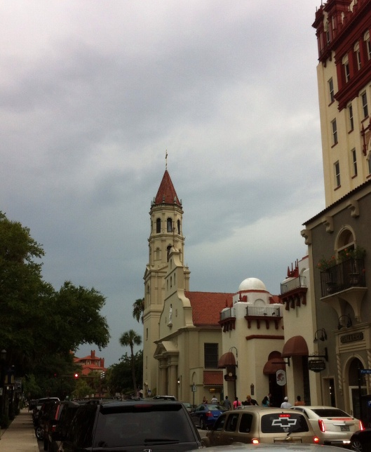 The Cathedral Basilica of St. Augustine. [Photo by me, 2014.]