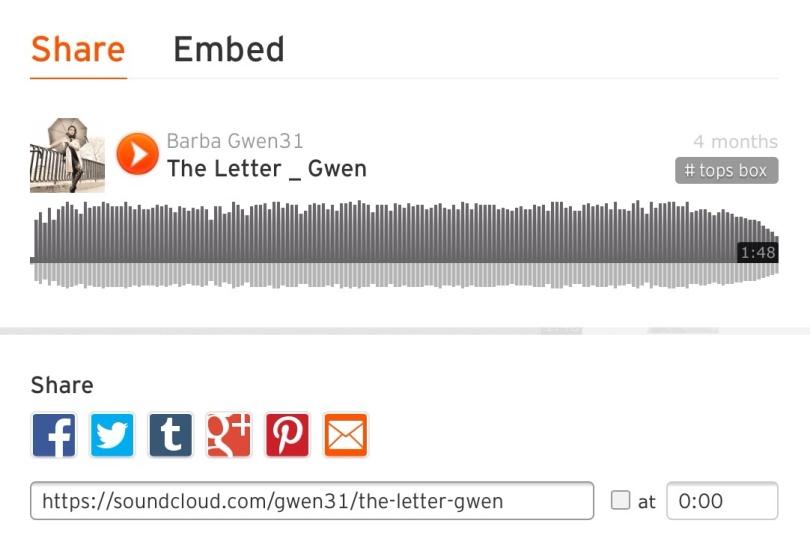 In Barba Gwen31's stream on Soundcloud.