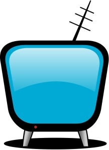 Free Stock Photo: Illustration of a cartoon television screen