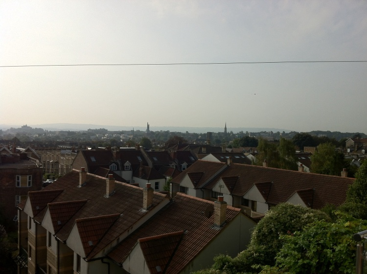 View over Bristol. [Photo by me, 2014]
