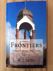 Frontiers cover. [Photo by me, 2014.]