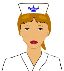 Free Stock Photo: Illustration of a nurse.