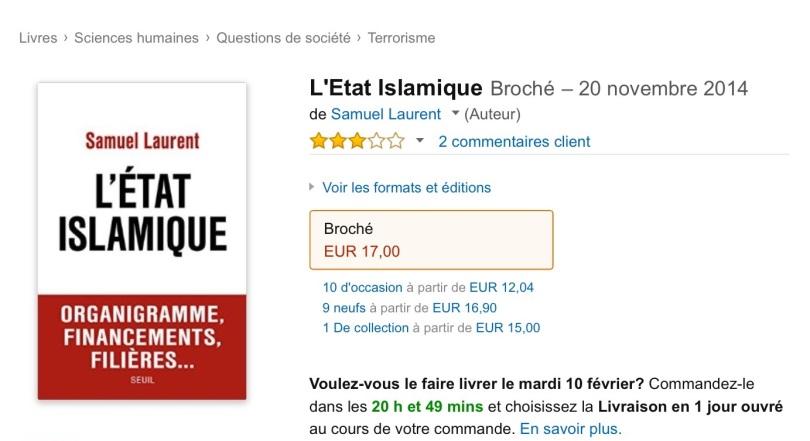 Amazon.fr screen grab.
