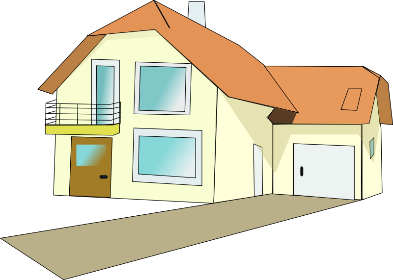 Free Stock Photo: Illustration of a house.