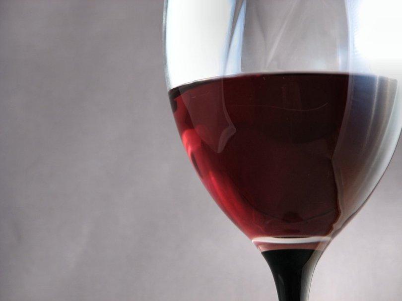 Free Stock Photo: Closeup of a glass of wine.