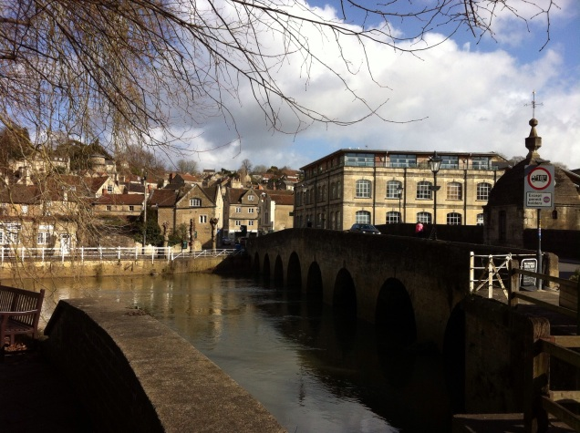 Bradford-on-Avon, Wiltshire, England [Photo by me, 2015.]