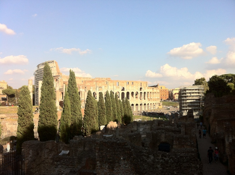 A famous Rome landmark. [Photo by me, 2013.]