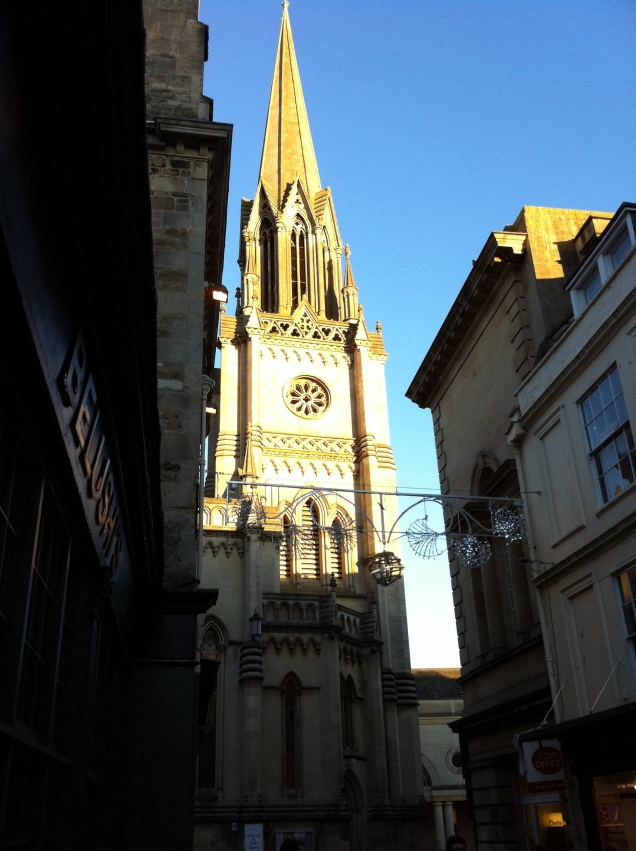 St. Michael's Church, Bath. [Photo by me, 2015.]