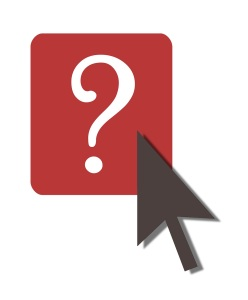 Free Stock Photo: Illustration of mouse on question mark.