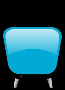 Free Stock Photo: Illustration of a cartoon television screen.