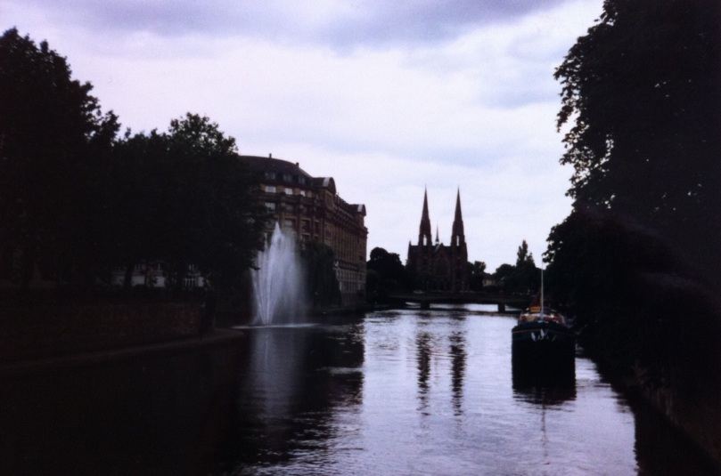 Strasbourg, France. Home of the European Parliament. [Photo by me, 1996.]