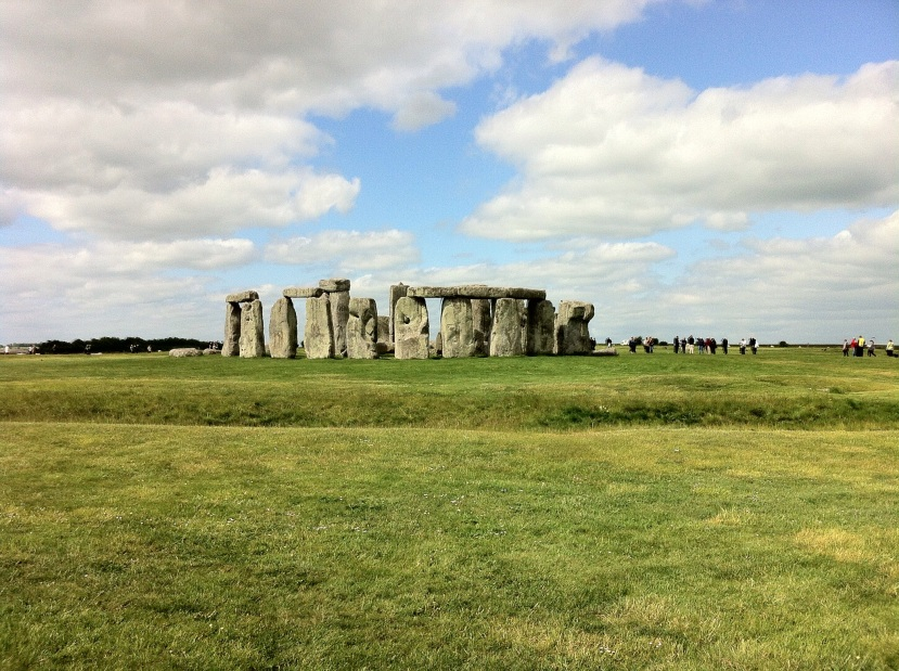 The famous stone circle. [Photo by me, 2015.]