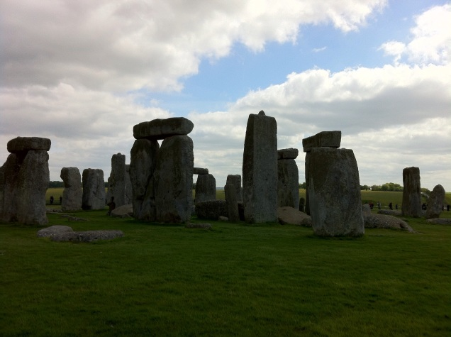 The world famous stone circle, at Stonehenge. [Photo by me, 2015.]