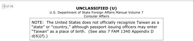 Screen capture of a portion of a U.S. State Department .pdf.