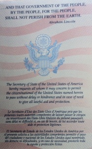 Page 1 of a U.S. passport. Click to expand. [Photo by me, 2015.]