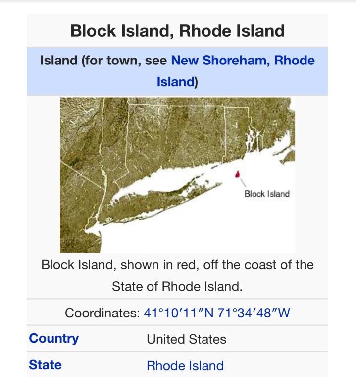 Blockhead On BlockIsland
