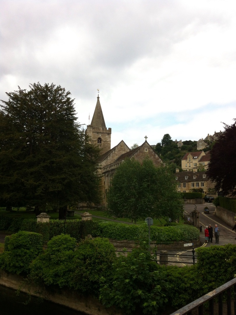 The Saxon Church, Bradford-on-Avon, not far from our house. [Photo by me, 14 June 2015.]