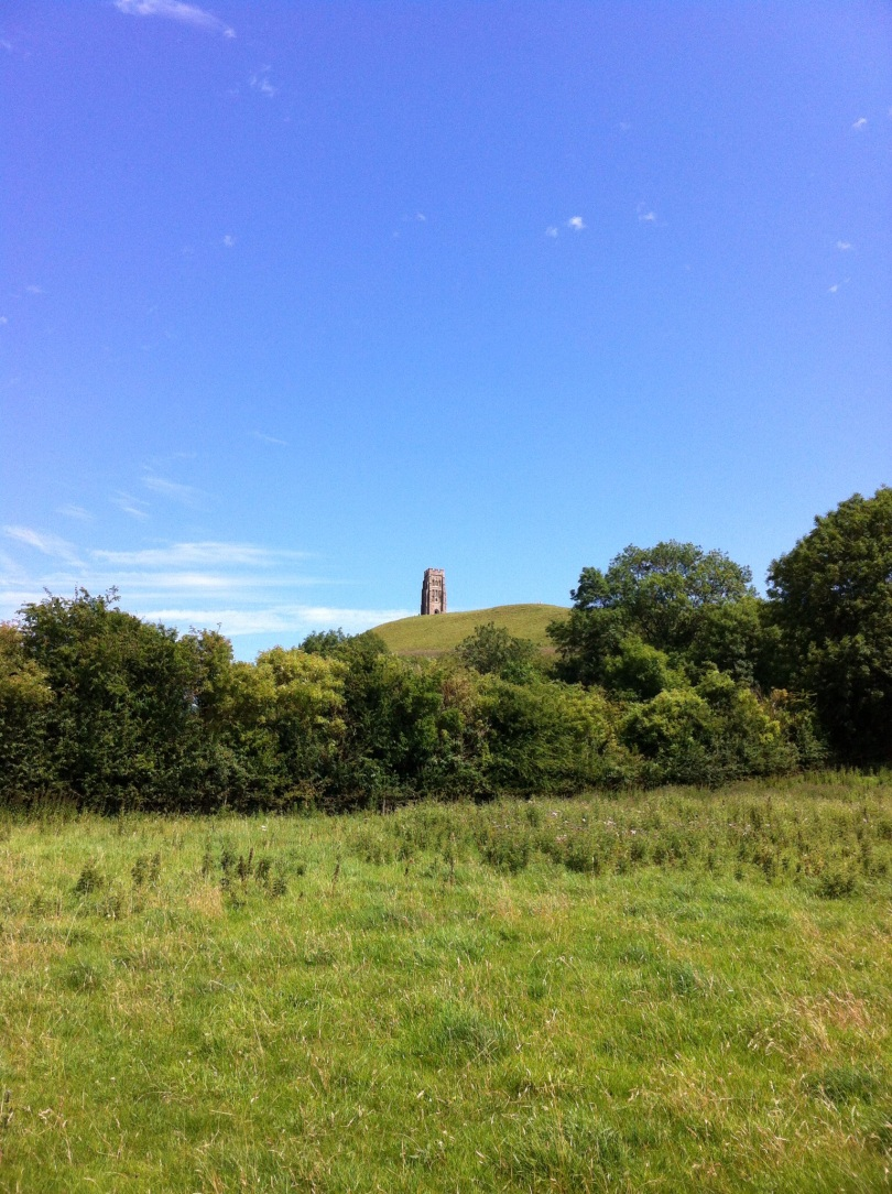 View of the Tor, from below. [Photo by me, 2015.]