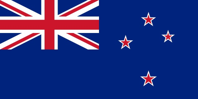 New Zealand flag, from Wikipedia.