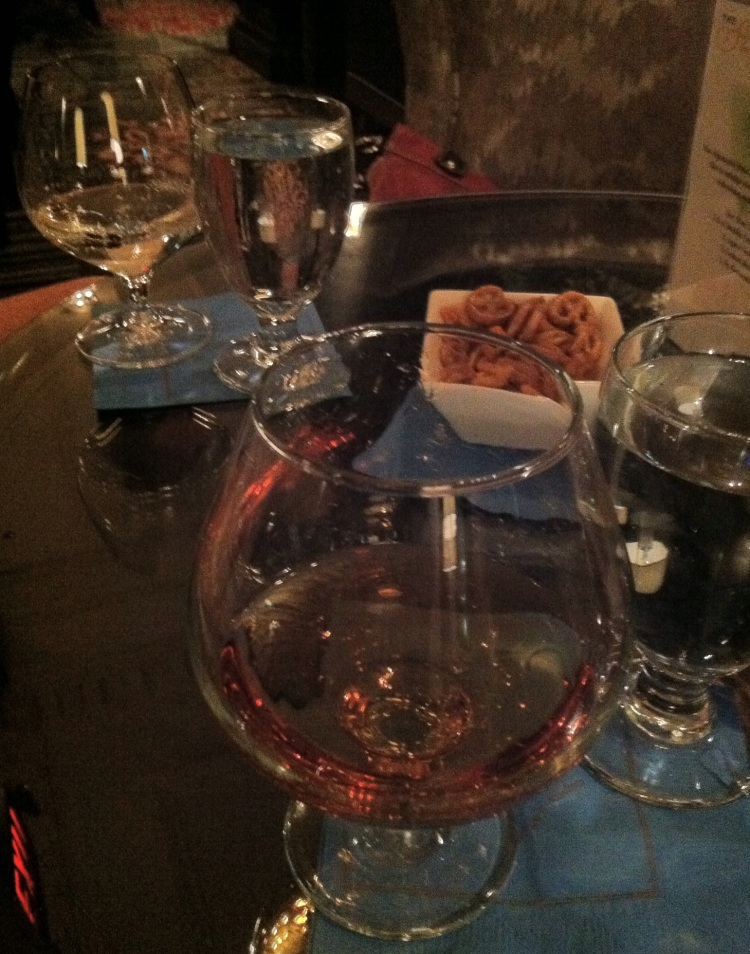 Drinks at the Algonquin. [Photo by me, 2013.]