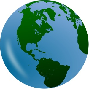Free Stock Photo: Illustration of a globe.
