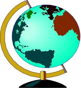 Free Stock Photo: Illustration of a globe.