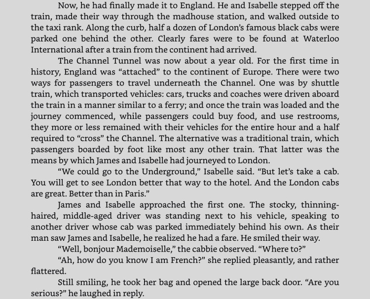 """Excerpt from """"Frontiers,"""" on the iPad app for Kindle. Click to expand."""
