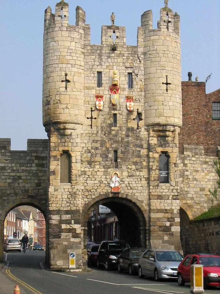Free Stock Photo: City Gate in York.