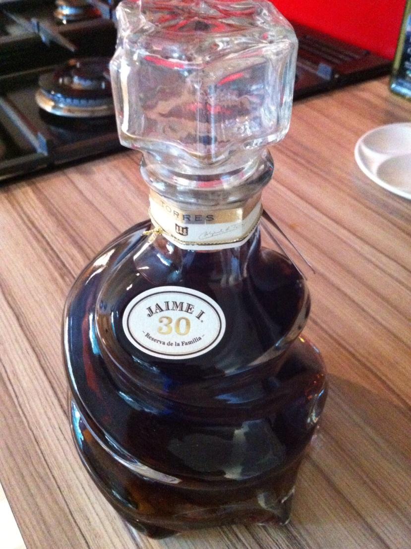 A lovely brandy of a birthday present.