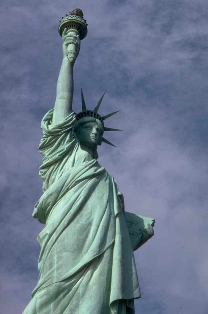 Free Stock Photo: The Statue of Liberty monument.