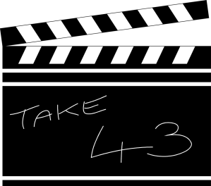 Free Stock Photo: Illustration of a movie clapboard.