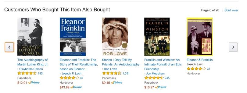 Screen capture of Amazon.com.