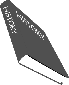 Free Stock Photo: Illustration of a history textbook.