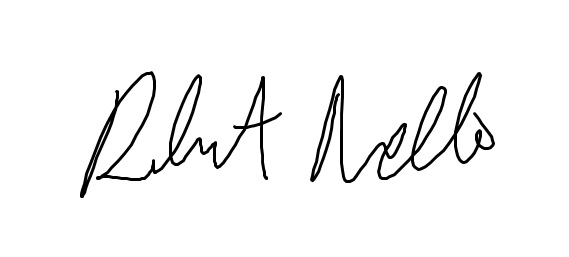 Official signature of this author.