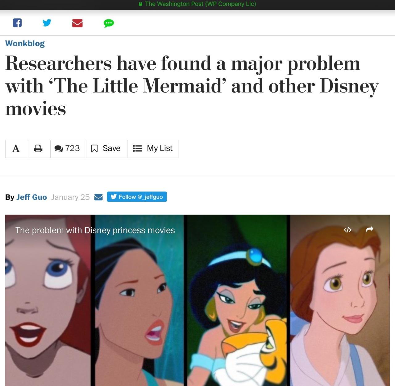 Screen capture of the Washington Post.