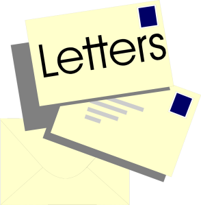 Free Stock Photo: Illustration of a stack of letters.