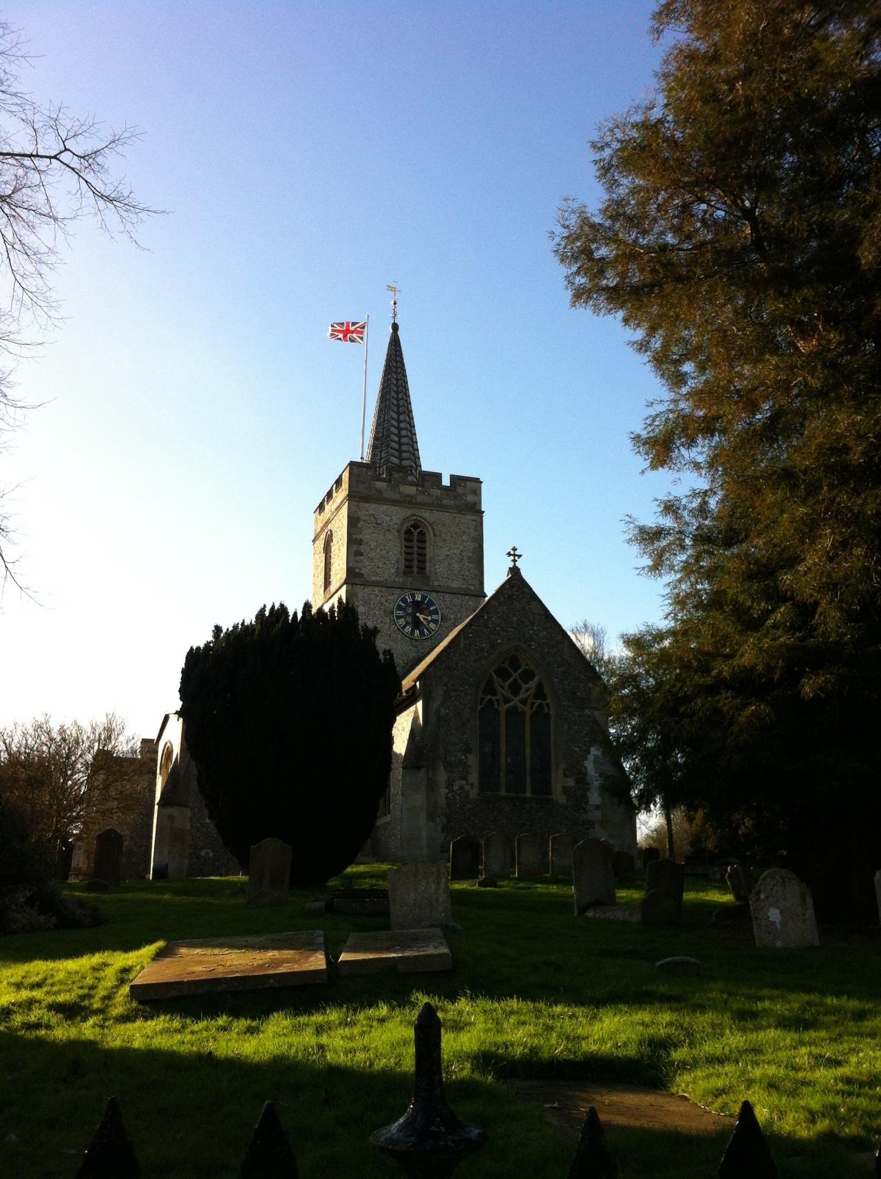 St. Mary's Church. Chesham, Buckinghamshire. [Photo by me, 2016.]