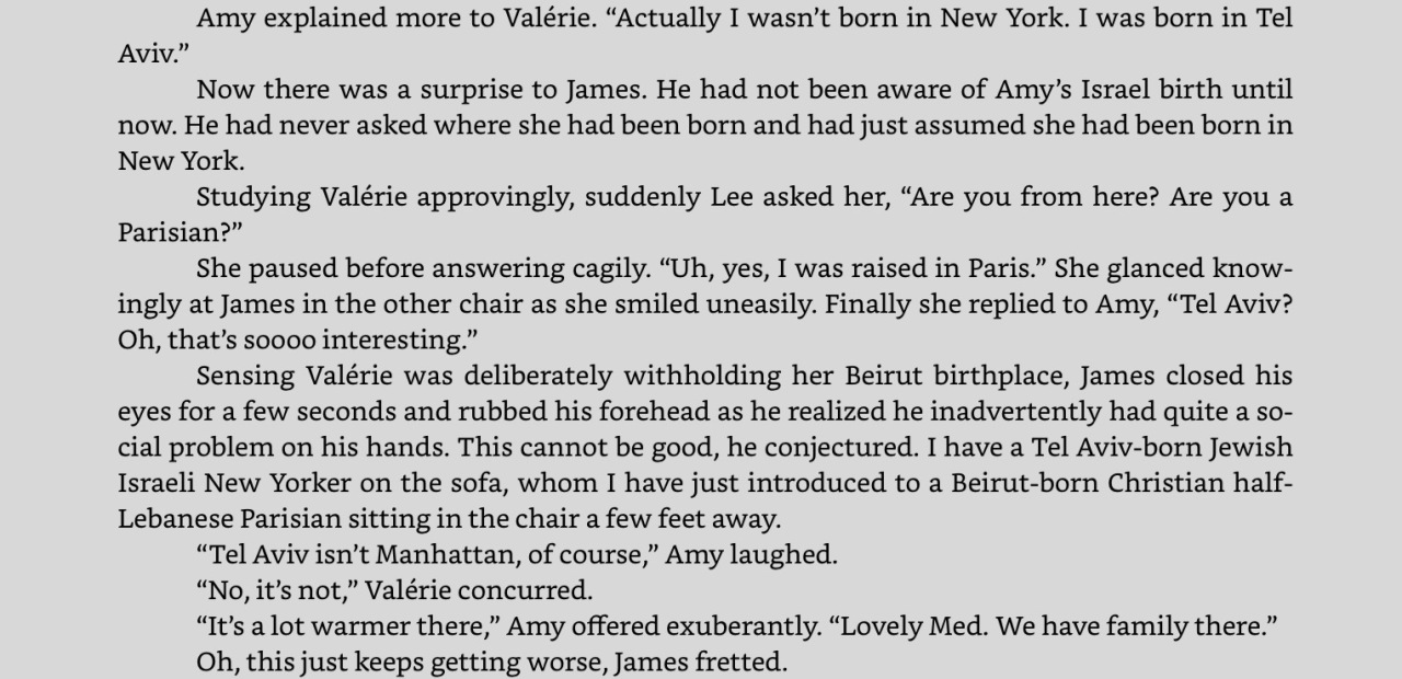 """Excerpt from """"Distances,"""" on the iPad app for Kindle. Click to expand."""