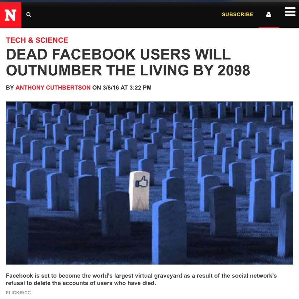 Screen capture of Newsweek Europe.
