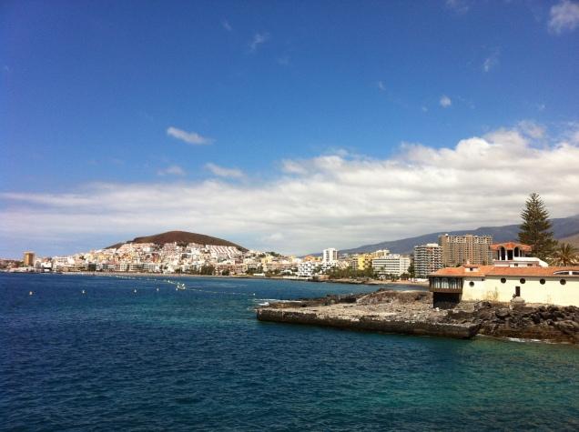 Coastal view. Tenerife, Canary Islands, Spain. [Photo by me, 2016.]