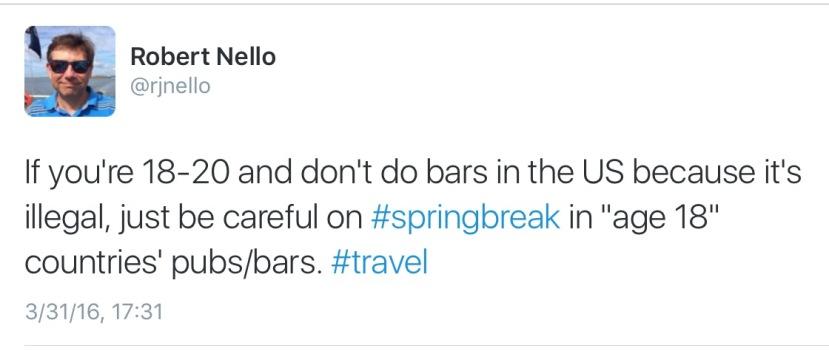 Screen capture of Twitter.