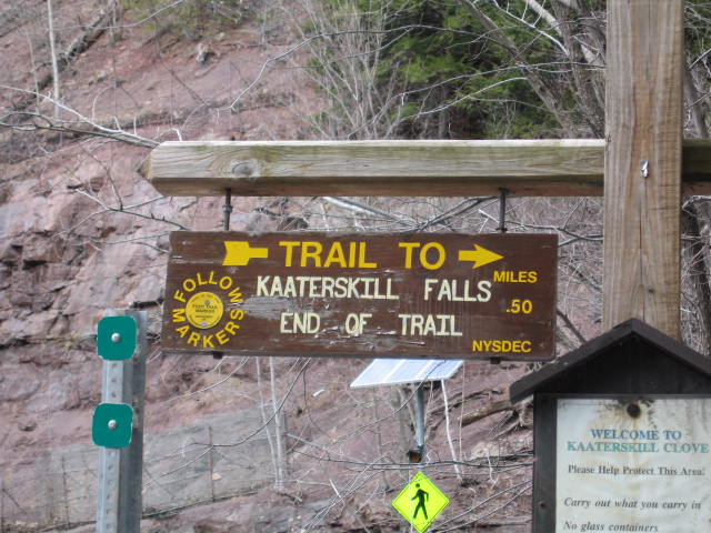 Kaaterskill Falls. [Photo by me, April 14, 2007.]