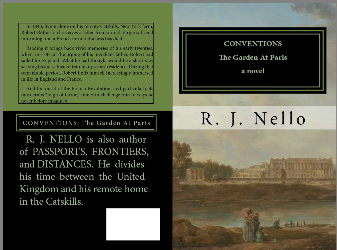 """Print working cover for """"Conventions."""" Click to expand."""