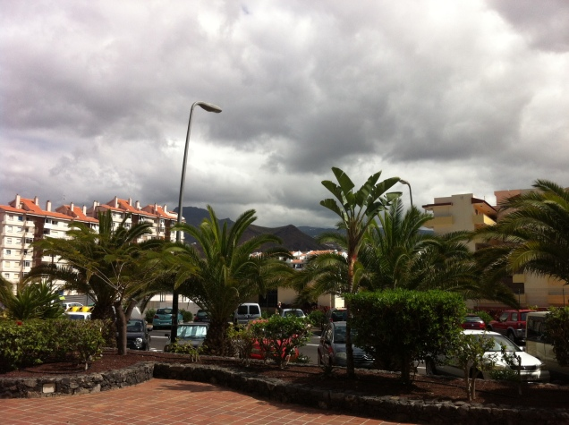 Street scene. Tenerife, Canary Islands, Spain. [Photo by me, 2016.]