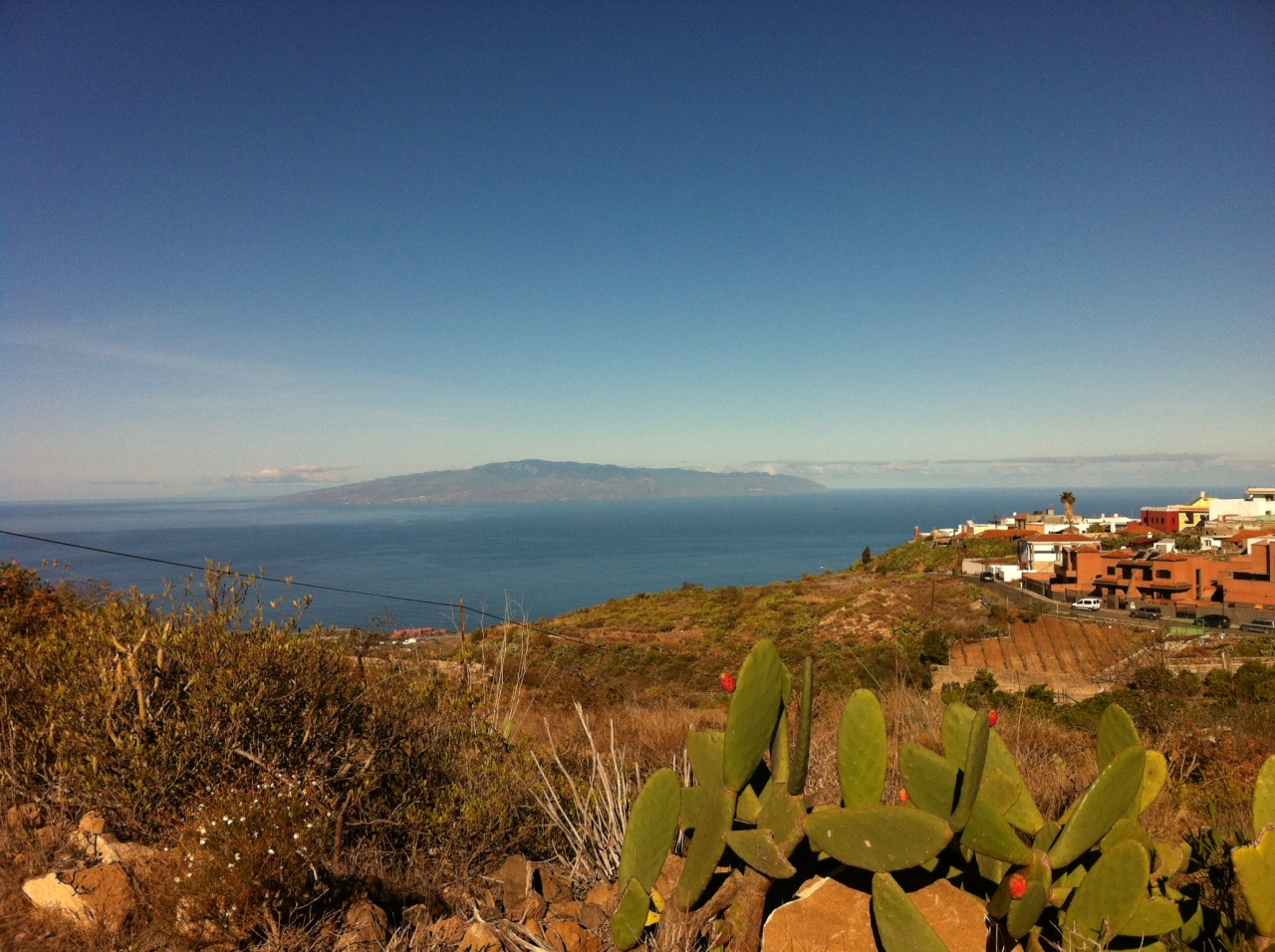A view of La Gomera island. [Photo by me, 2016.]